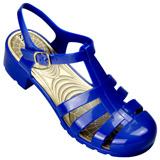 Sandália De Verão Miss Miss 9900 Azul