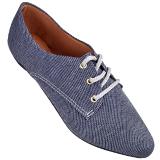 Sapato Oxford Jeans Grafite 4011TC