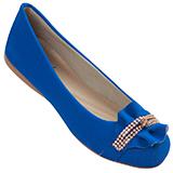 Sapatilha Feminina Azul Durban 439084