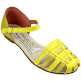 Sand�lia Flavia 504 Amarelo/Ouro