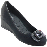 Sapato Anabela Azaleia 206/740 Preto
