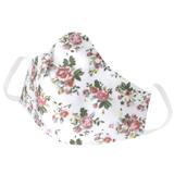 Mascara em Tecido Lavável Reutilizável Floral 6
