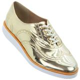Sapato Feminino Firezzi Ouro 179301
