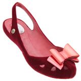 Sapatilha Dijean 586 Vermelho Floco