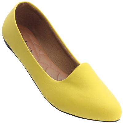 Sapatilha Feminina 2108 Amarelo