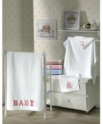 Toalha Lavabo Dohler Velour p/ bordar Baby Classic