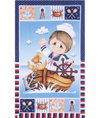 Toalha Banho Dohler Felpudo - Nautical Boy