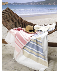 Toalha Praia Dohler Felpudo com franja - AF-1467