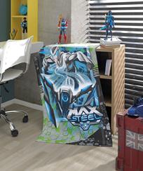 Toalha Banho Dohler Felpudo - Max Steel 04