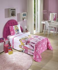 Jogo de Cama Dohler Infantil - Barbie 07