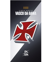 Toalha Praia Dohler Velour - Vasco da Gama 07 - 76x152cm
