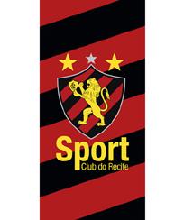 Toalha Praia Dohler Velour - Sport Club Recife 07 - 76x152cm