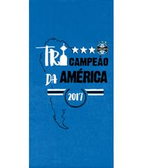Toalha Praia Dohler Velour - Grêmio 08 - 76x152cm