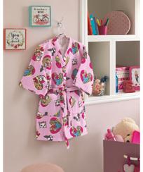 Roupão Infantil Dohler Velour - Barbie 09