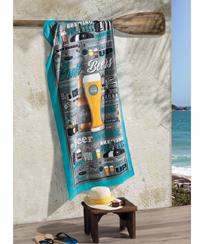 Toalha Praia Dohler Velour - Beers - 76x152cm