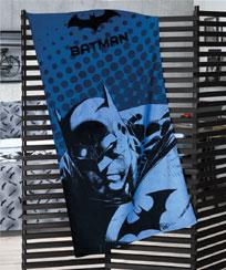 Toalha Praia Dohler Velour Licenciado - Batman 07 - 76x152cm