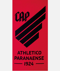 Toalha Praia Dohler Velour - Athletico Paranaense 06 - 70X140CM