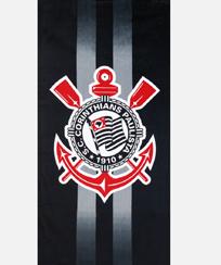 Toalha Praia Dohler Velour - Corinthians 09 - 70X140CM