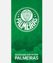 Toalha Praia Dohler Velour - Palmeiras 06 - 70x140cm