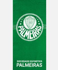 Toalha Praia Dohler Velour - Palmeiras 07 - 70X140CM