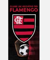 Toalha Praia Dohler Velour - Flamengo 13 - 70X140CM