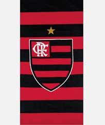 Toalha Praia Dohler Velour - Flamengo 14 - 70X140CM
