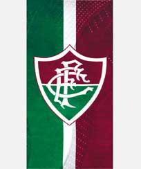 Toalha Praia Dohler Velour - Fluminense 07 - 70X140CM