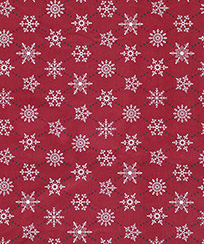 Tecido para Patchwork AM-2594 Estampado - Flocos de Neve -5461