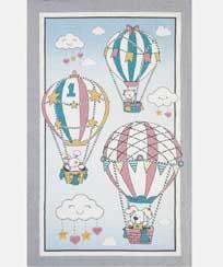 Toalha Banho Dohler Felpudo - Balões