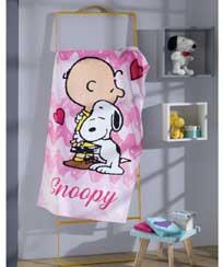 Toalha Banho Dohler Velour Licenciado - Snoopy 11