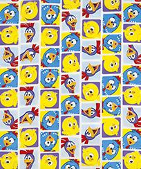 Tecido Para Patchwork Licenciado II - Galinha Pintadinha Mini 04