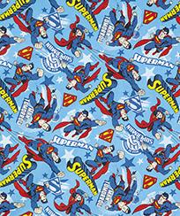 Tecido Para Patchwork Licenciado II - Superman 12