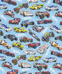 Tecido Para Patchwork Licenciado II - Hot Wheels 03