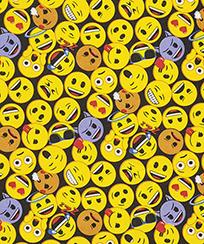 Tecido Para Patchwork Licenciado II - Emoji 01