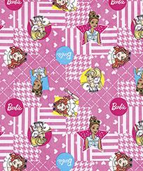 Tecido para Patchwork Licenciado II - Barbie 18