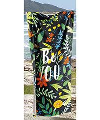 Toalha Praia Dohler Velour - Be You - 76x152cm