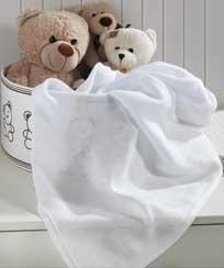 Tecido Fralda Branca - 100% algodão - 115 fios - 130 g/m²