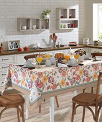 Toalha de Mesa Dohler Clean Renova Estampado Digital - Fátima D