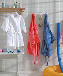 Roupão Infantil Dohler Mod. JU-09 Kids Velour c/ Capuz
