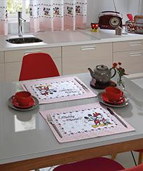 Jogo Americano Döhler Clean - Mickey e Minnie 08