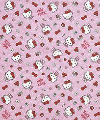 Tecido Tricoline AM-5061 Estampado Digital Licenciado II - Hello Kitty 04 D