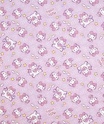 Tecido Tricoline AM-5061 Estampado Digital Licenciado II - Hello Kitty 05 D