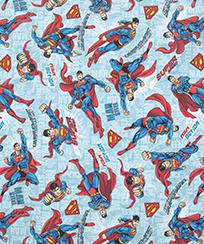Tecido Tricoline AM-5061 Estampado Digital Licenciado II - Superman 22 D