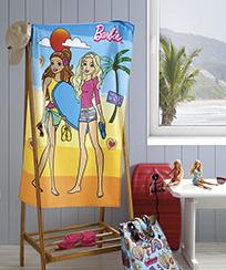Toalha Banho Dohler Felpudo Licenciado - Barbie 25