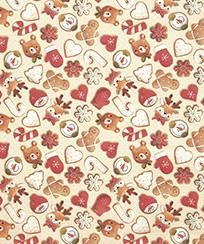 Tecido Tricoline AM-5061 Estampado Digital - 5826 D Natal