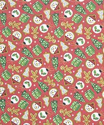 Tecido Tricoline AM-5061 Estampado Digital - 5827 D Natal