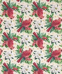 Tecido Tricoline AM-5061 Estampado Digital - 5828 D Natal
