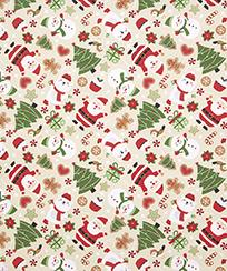 Tecido Tricoline AM-5061 Estampado Digital - 5832 D Natal