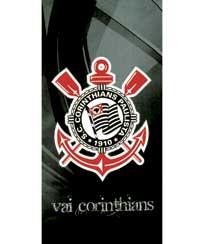 Toalha Praia Dohler Velour Corinthians 02 - 76x152cm