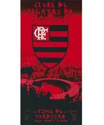 Toalha Praia Dohler Velour II Flamengo 01 - 76x152cm